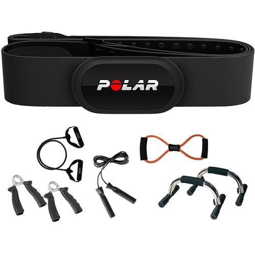 Polar H10 Heart Rate Sensor & Fitness Tracker, Black