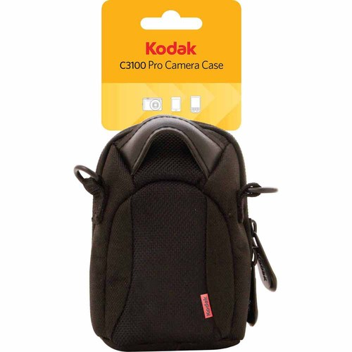 Kodak Pro Camera Case for Digital Cameras, MP3 Players, Cell Phones and iPods (Black)