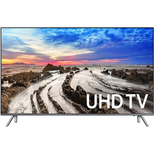 Samsung UN75MU8000FXZA 74.5` 4K Ultra HD Smart LED TV (2017 Model) - Refurbished