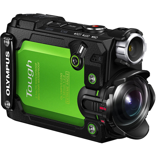 Olympus Stylus TG-Tracker 4K Action Cam Water/Shock-proof (Green) Certified Refurbished