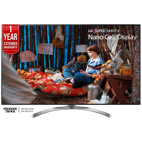 LG SUPER UHD 55` 4K LED TV 2017 Model w/ Additional 1 Year Extended Warranty