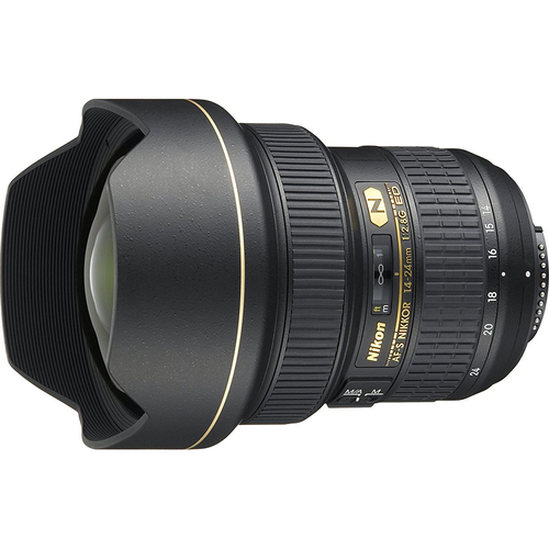 Nikon 14-24mm f/2.8G AF-S DX FX Full Frame NIKKOR ED Lens, Nikon 5-Year USA Warranty