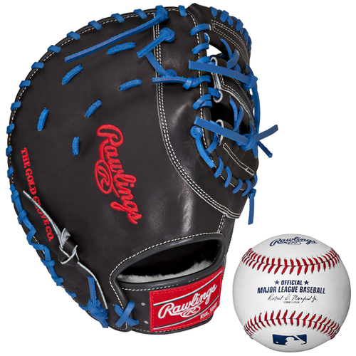 Rawlings Preferred 12.75` First Base Mitt-Right Hand Throw w/ Rawlings Baseball