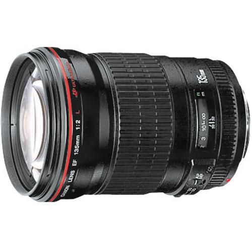 Canon 135mm f/2.0L USM Telephoto Lens for Canon SLR Cameras 2520A004