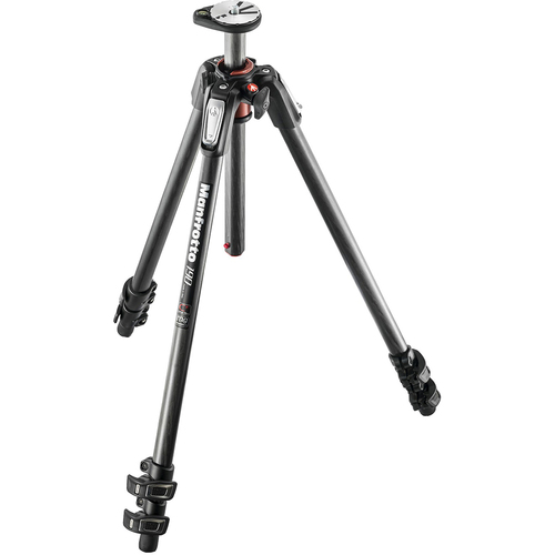 Manfrotto 190Cx Carbon Fibre Q90 3-section Tripod (190CXPRO3)