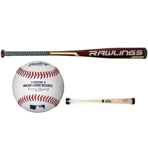Rawlings 31/28oz Velo Hybrid w/Composite Cap-3 2 5/8` Diameter + Ball and Sleeve