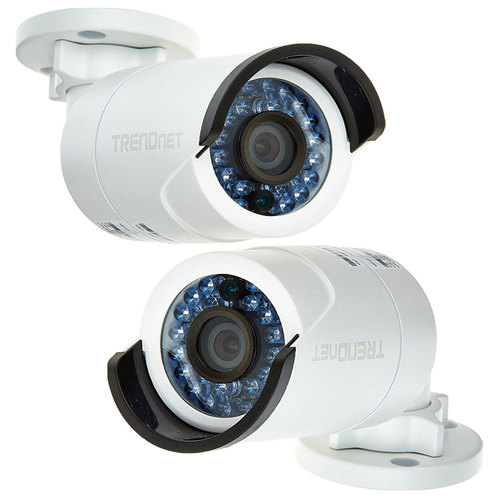 TRENDnet 2-Pack Indoor/Outdoor 3 MP 1080p PoE IP Day/Night Network Camera (TV-IP310PI)