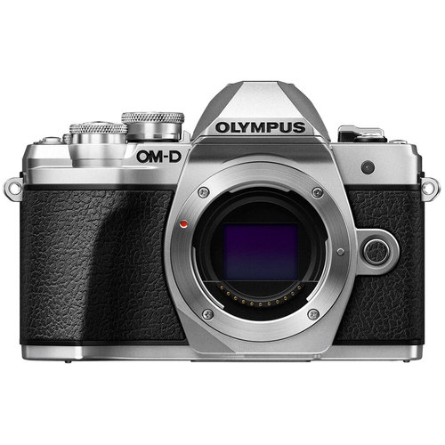 Olympus OM-D E-M10 Mark III Mirrorless Micro Four Thirds Digital Camera Body (Silver)