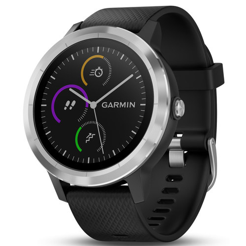 vivoactive 3 GPS Fitness Smartwatch - (Black & Stainless)