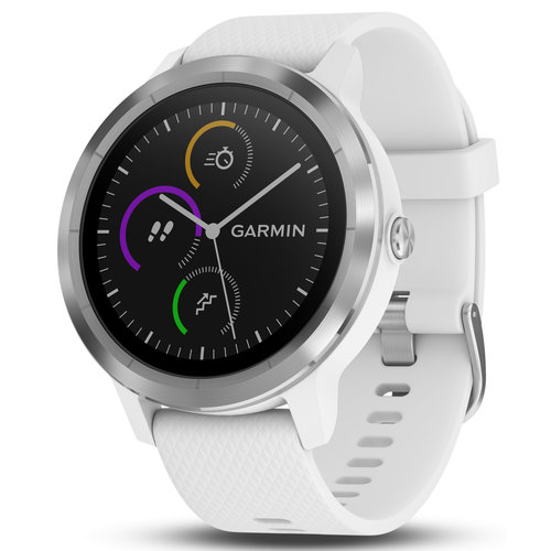 vivoactive 3 GPS Fitness Smartwatch -  (White & Stainless)