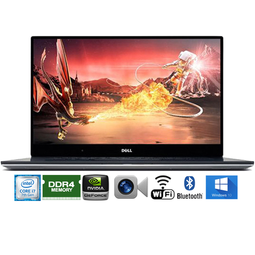 Dell XPS9550-10000 15.6` 4K Intel i7-6700HQ 1TB Touch Laptop - Certified Refurbished