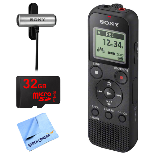 Sony PX370 Digital Voice Recorder w/ 32GB Bundle