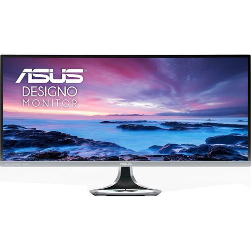 ASUS 34-Inch 21:9 Curved Ultra-wide Quad HD 100Hz Monitor - OPEN BOX