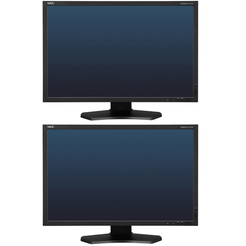 NEC 23-Inch Widescreen 1920x1080 LED-Lit Monitor 2 Pack
