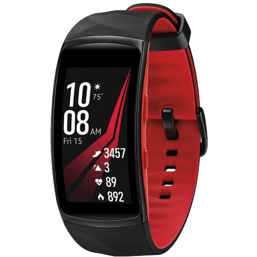 Samsung Gear Fit2 Pro Fitness Smartwatch - Red, Small - SM-R365NZRNXAR