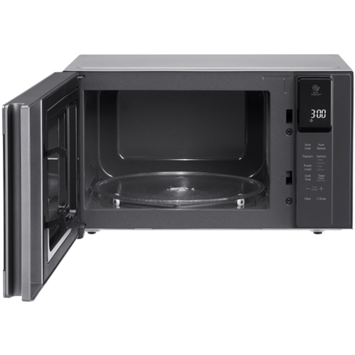 Lg 0 9 Cu Ft Neochef Countertop Microwave In Stainless