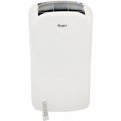 Whirlpool 12000 BTU Dual-Exhaust Portable Air Conditioner with Remote Control - WHAP122AW