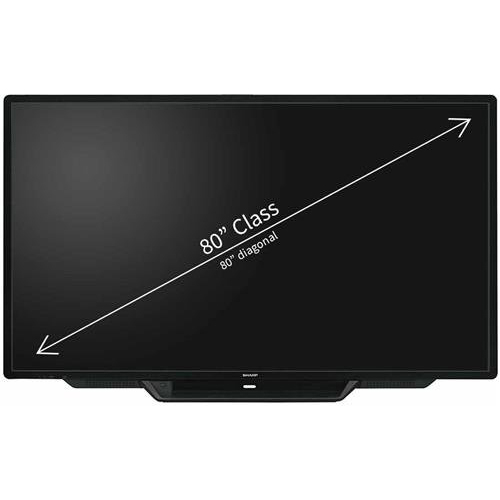 Sharp 80in Class Aquos Board LED-backlit LCD Display - PN-L803C