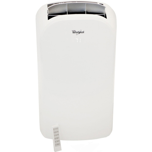 Whirlpool 14000 BTU Dual-Exhaust Portable Air Conditioner with Remote Control - WHAP142AW