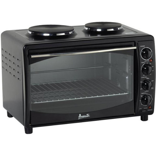 Avanti MKB42B Multi-Function Electric Oven Convection Toaster with Temp control (Black)