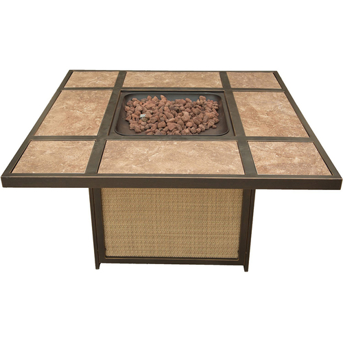 Hanover Traditions Tile-Top Fire Pit - TRADTILE1PCFP