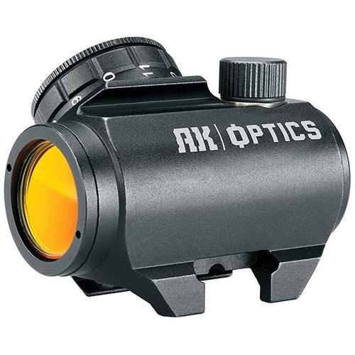 Bushnell AK Optics AK-25 1X25mm 3 MOA Red Dot Sight for Rifle (Black) AK731303