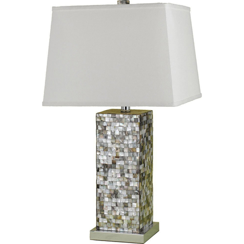 AF Lighting Sahara Mosaic Table Lamp - 6671-TL