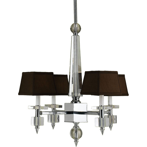 AF Lighting Cluny 4-Light Crystal Chandelier - 6686-4H
