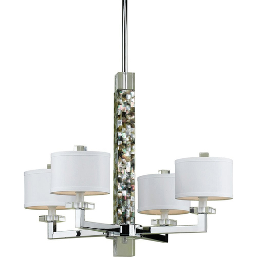 AF Lighting Sahara 4 Light Chandelier - 7454-4H