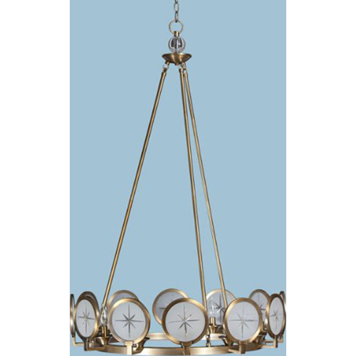 AF Lighting Cecil Chandelier 12-60W Candle Bulbs 46 HX29 D Hardwire Only