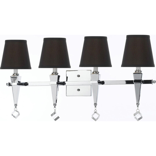 AF Lighting Margo Four Light Vanity Chocolate Shades - 8205-4W