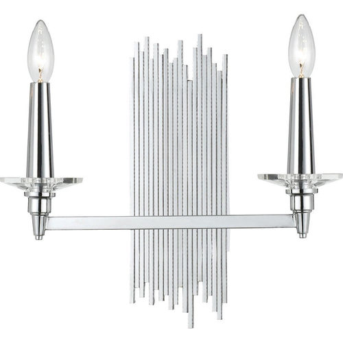 AF Lighting 2-60W Candle Bulbs Trevor Sconce - 8214-2W