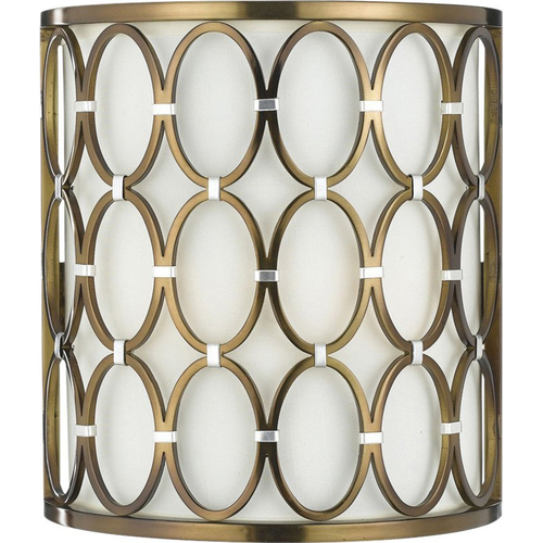 AF Lighting Cosmo Wall Sconce in Satin Brass - 8220-2W