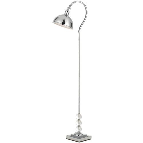 AF Lighting Hollace Floor Lamp in Chrome - 8495-FL