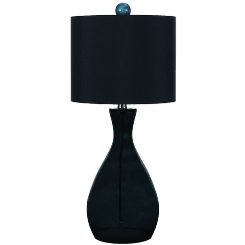 AF Lighting Mercer Hand-Blown Glass Table Lamp in Smoke - 8517-TL