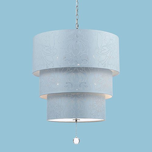 AF Lighting Over The Top Pendant in Blue - 9007-5H