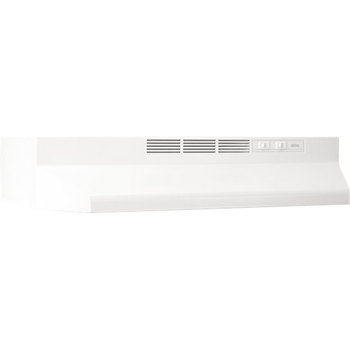 Broan 24  Range Hood Non-ducted 2-Speed Rocker Light