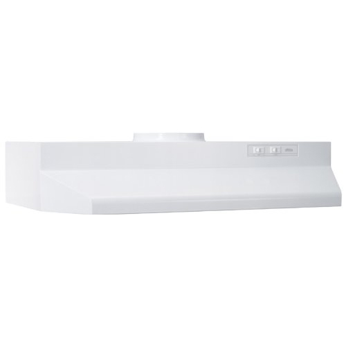 Broan 30  Range Hood 2-Speed Rocker Light 190 CFM