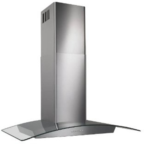Broan ELITE 30  Curved Glass Canopy Chimney Hood 500 CFM Elect Control
