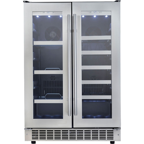 Danby Silhouette Professional 24` French Door Beverage Center - DBC047D3BSSPR