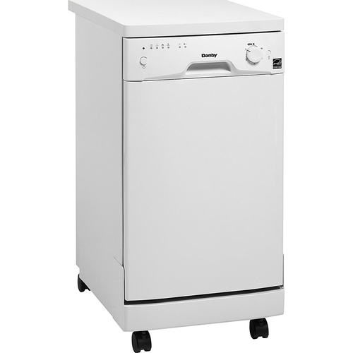 Danby 8 Place Setting Dishwasher in White - DDW1801MWP