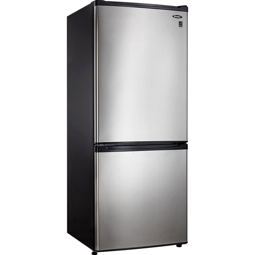 Danby 9.2 Cu.Ft. Apartment Size Refrigerator w/Spotless Steel Doors- DFF092C1BSLDB
