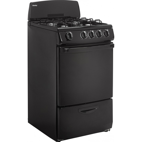 Danby 2.4 Cu.Ft Range in Black - DR200BGLP