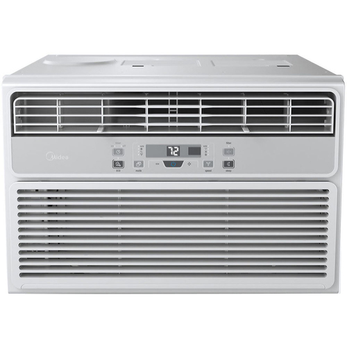 Midea 6000 BTU Window Air Conditioner with Follow Me Remote Control - MWA06CR71-A