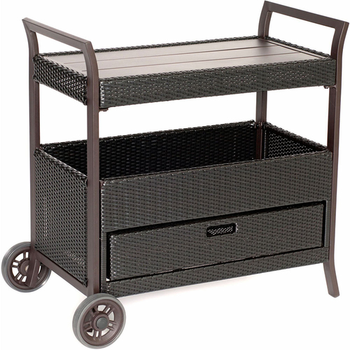Hanover Outdoor Bar Cart - HAN-BARCART