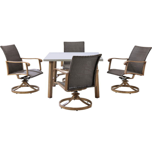 Hanover Hermosa 5-Piece Dining Set - HERDN5PC-SQR