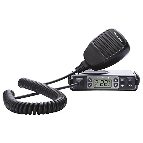 Midland Consumer Radio MXT105 MicroMobile 5 W GMRS Radio with Weather