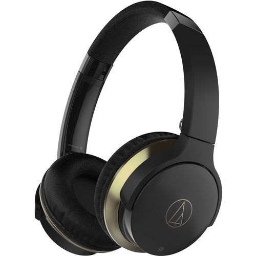 Audio-Technica SonicFuel Wireless On-Ear Headphones with Mic & Control