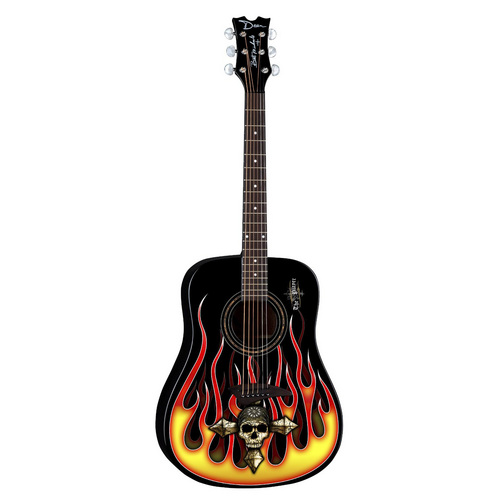 Dean Bret Michaels Player Acoustic Guitar Bundle