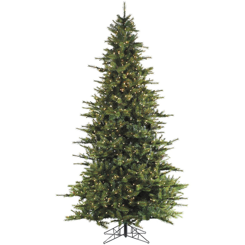 Fraser Hill 9 Ft. Southern Peace Pine Christmas Tree w/ Smart String Lighting - FFSP090-3GR